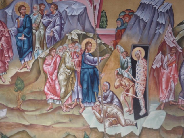 "Jesus ""The Life,"" Raises Lazarus from the Grave"