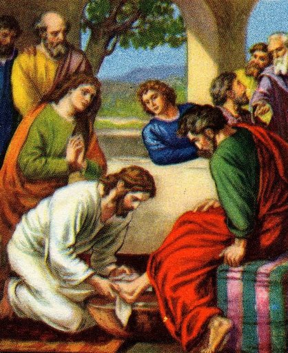 Jesus Washing the Disciples Feet
