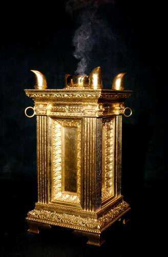 Golden Altar Of Incense