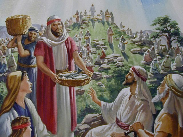 Jesus Multiplies the Loaves and Fish