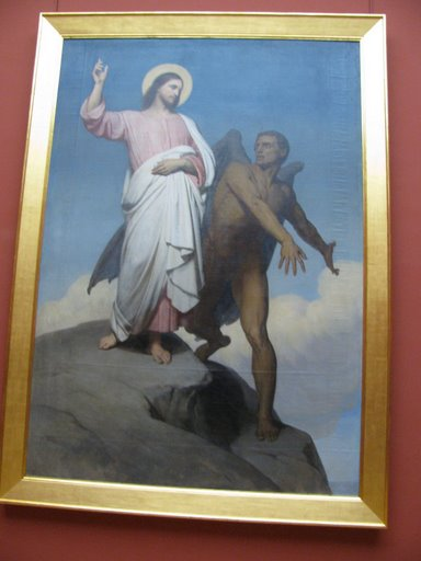 Jesus is Tempted on the Mountain