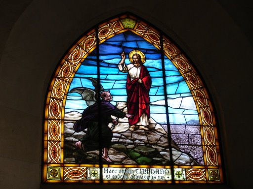 Jesus Tempted in the Wilderness by the Devil