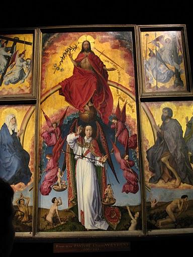 The Last Judgment by Rogier Van Der Weyden