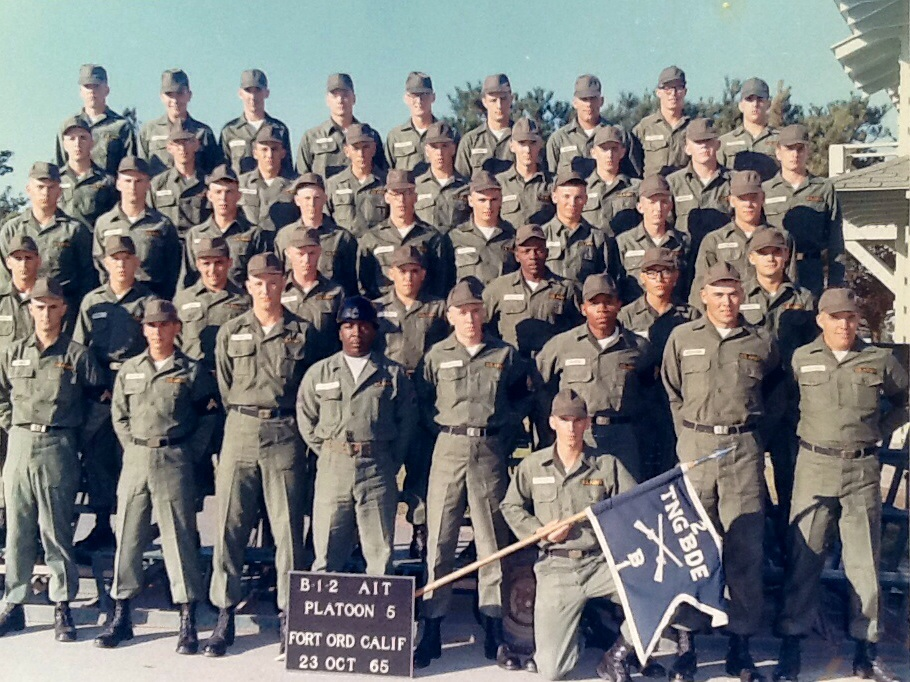 This is a picture of my unit. I'm in the last row, on the right, the one with the glasses.